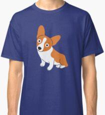 Cute Corgi is a happy dog Classic T-Shirt
