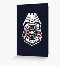Spelling Police Greeting Card