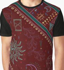 Pyramide Grafik T-Shirt