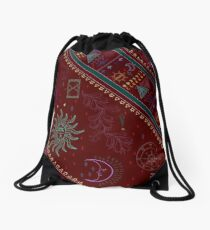 pyramid Drawstring Bag