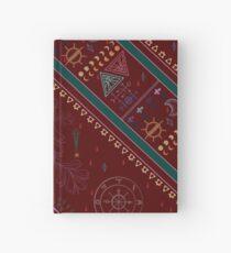 Cuaderno de tapa dura pirámide