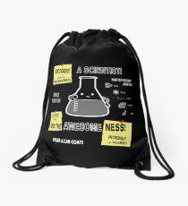 Become A Scientist Drawstring Bag