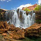 Lower Navajo Falls by Valentina Gatewood