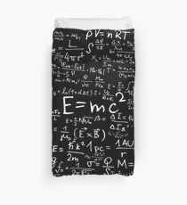 Physics Equations Duvet Cover