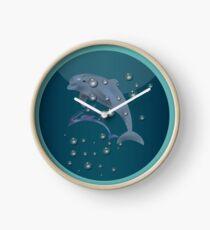 Dolphin Adventure Clock