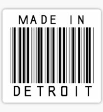 Made in Detroit Sticker