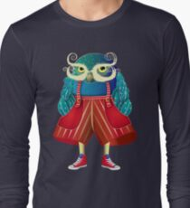 My Owl Red Pants Langarmshirt