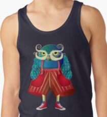My Owl Red Pants Men's Tank Top