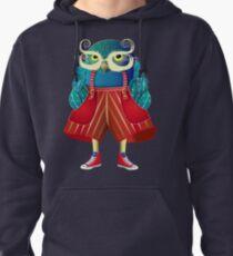 My Owl Red Pants Pullover Hoodie
