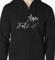 Awesome Amor Fati T Shirt Zipped Hoodie