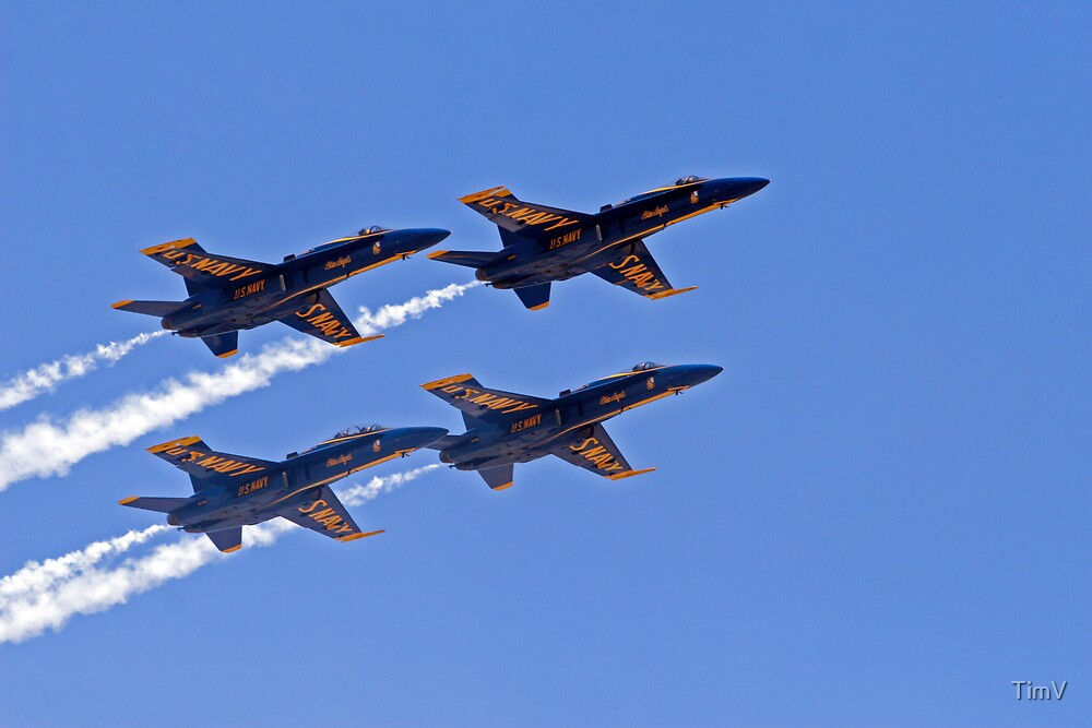 Blue Angels by TimV