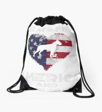 patriotic boxers - 4th of july boxers Drawstring Bag