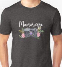 Mamarazzi Funny Photography Gift Mothers Day Gift Photographer Unisex T-Shirt