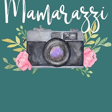 Mamarazzi Funny Photography Gift Mothers Day Gift Photographer by HappyEdenCo