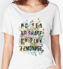 No Tea, No Shade, No Pink Lemonade Women's Relaxed Fit T-Shirt