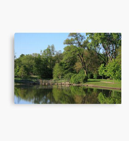 Barth Pond Canvas Print