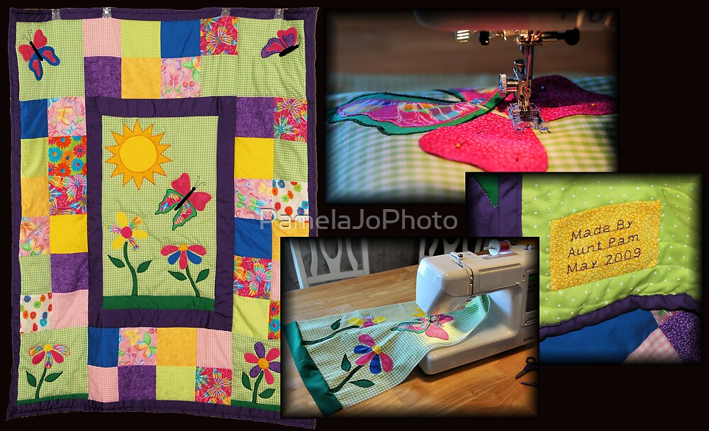 Baby Quilt by PamelaJoPhoto