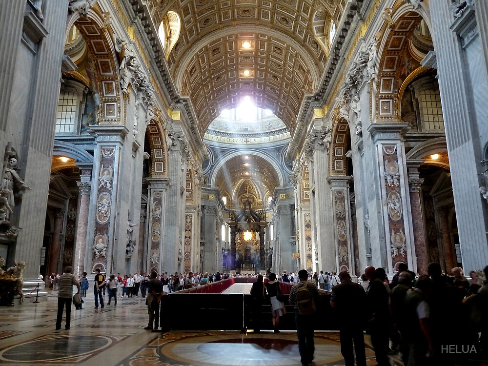 In Saint Peter´s Basilika by HELUA