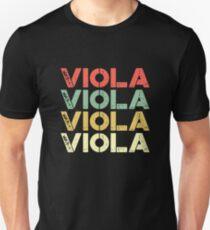 vintage Viola - retro Viola Unisex T-Shirt