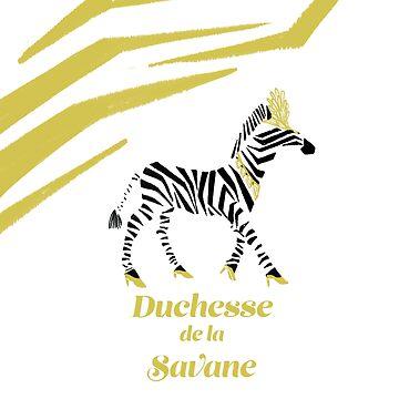 «Duchesse de la Savane» par BabyKarot