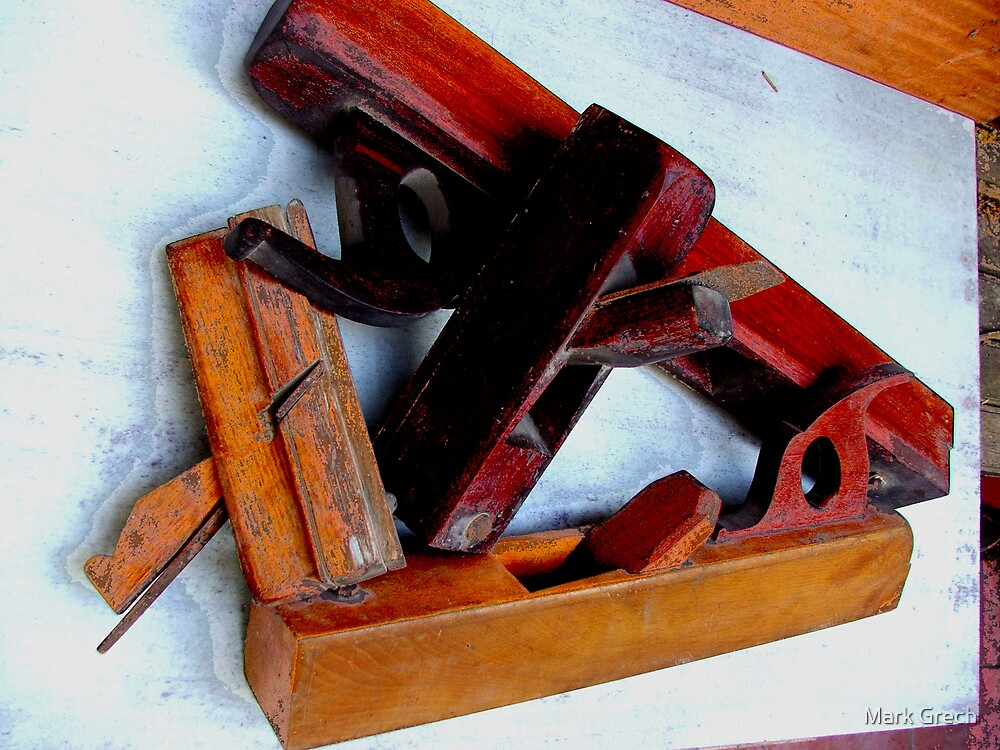 WOOD WORKING TOOLS  by Mark Grech