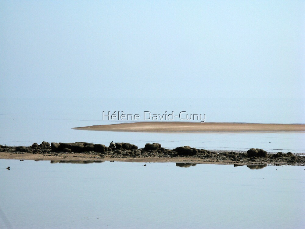 Low tide by Hélène David-Cuny