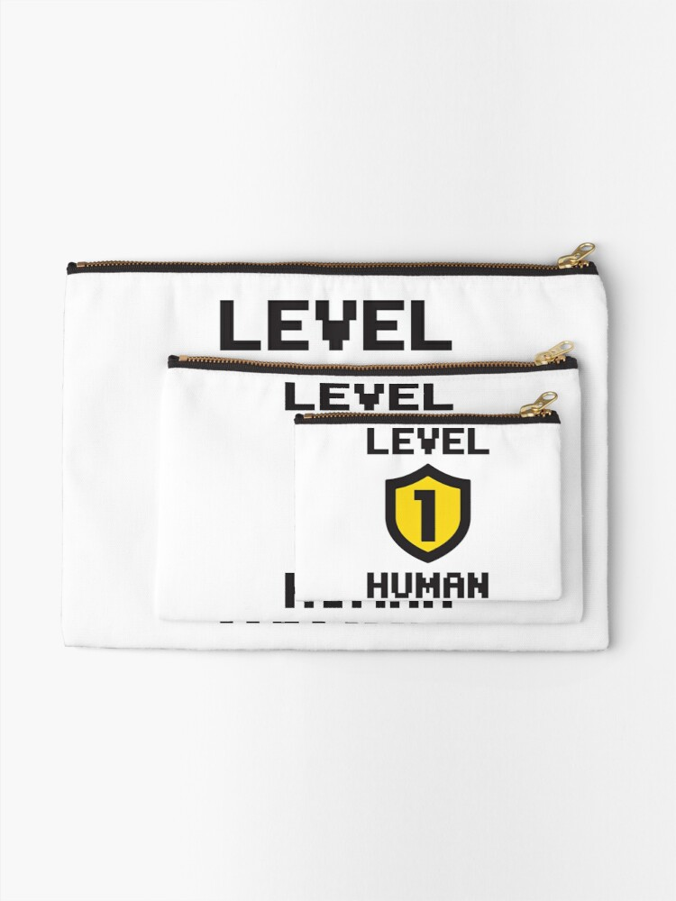 Alternate view of Level 1 Human Zipper Pouch