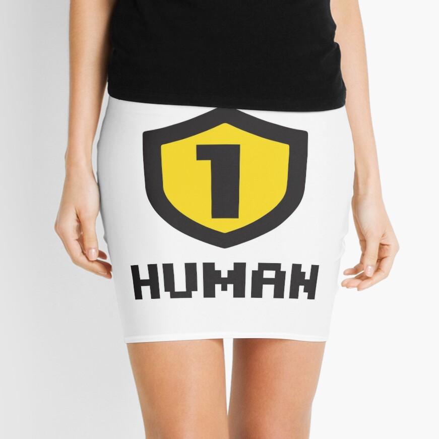 Nivel 1 humano Minifalda