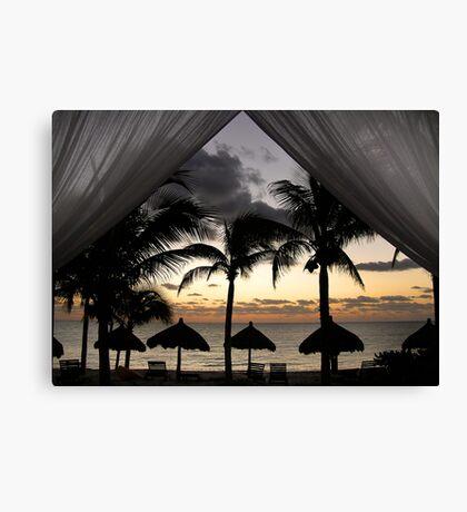 dawn dreaming  Canvas Print