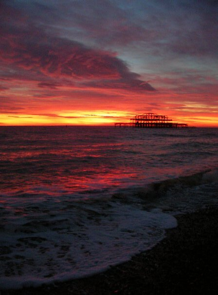 Sunset I by Dan Cash