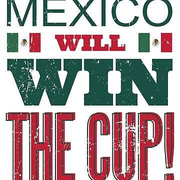 Mexico Mexican Soccer Team Russia 2018 Tee Shirt Football by Saruk