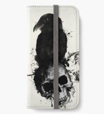 Raven and Skull iPhone Wallet/Case/Skin