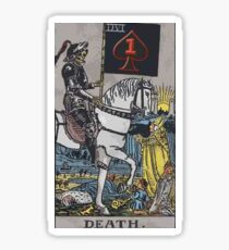 506 Death Dealers Tarot Card Sticker