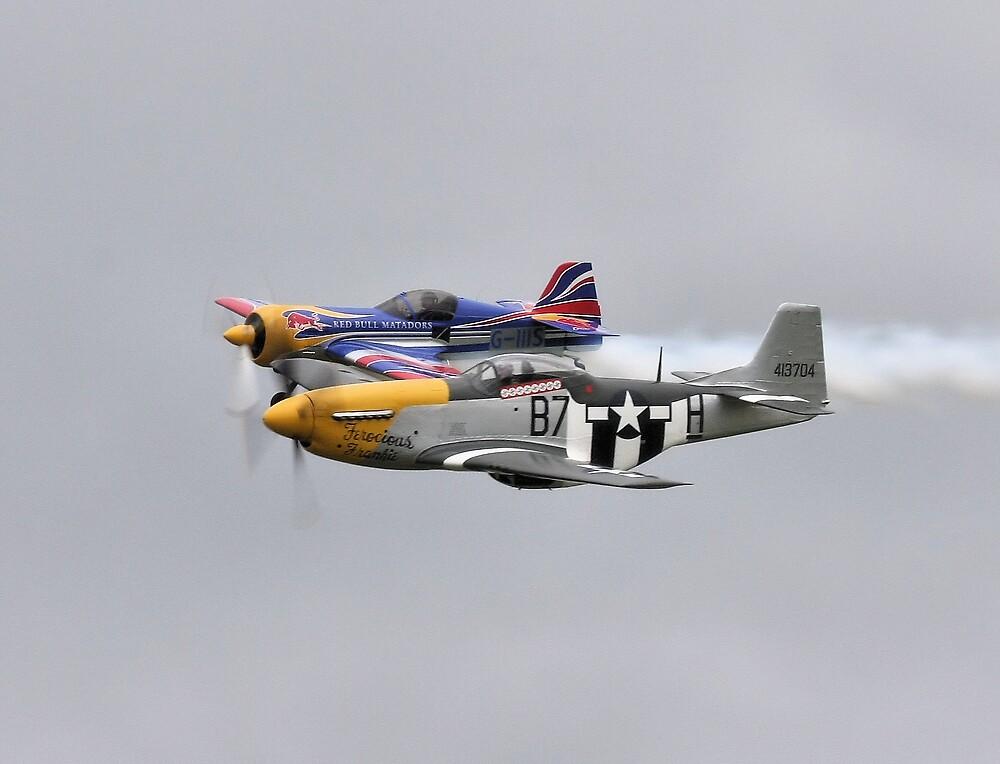 Su26 P51D Mustang pair by PhilEAF92