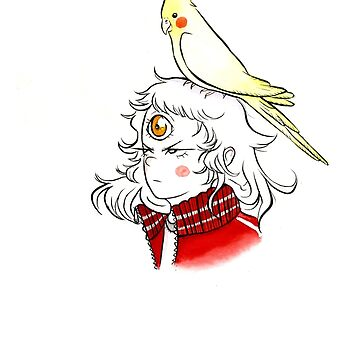 Cockatiel  by Lillyanakirk