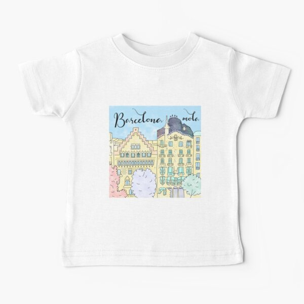 Barcelona mola by Alice Monber Baby T-Shirt