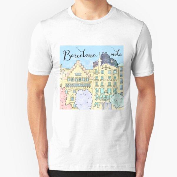 Barcelona mola by Alice Monber Slim Fit T-Shirt