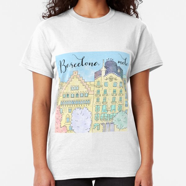 Barcelona mola by Alice Monber Classic T-Shirt