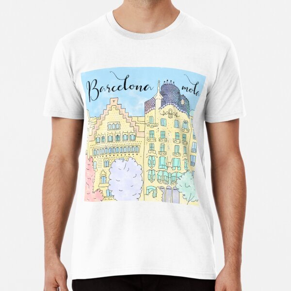 Barcelona mola by Alice Monber Premium T-Shirt