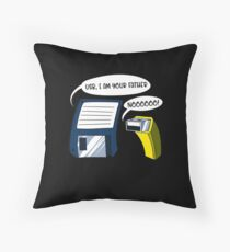 USB I Am Your Father! Funny Floppy Disk Geek  Floor Pillow