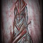 Silent Hill's Pyramid Head-The red Pyramid by butterflyashes