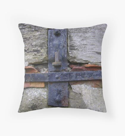 holding things together (here's a hug!) Throw Pillow