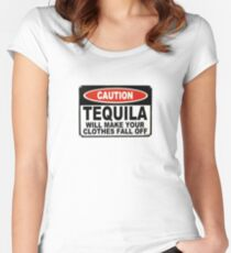 Tequila T shirt Women's Fitted Scoop T-Shirt