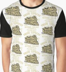 Union Express Canadian Railway Graphic T-Shirt