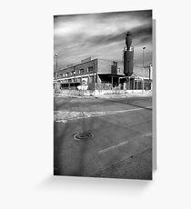 Industrial buildings Greeting Card