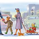 crossing the street by larry ruppert