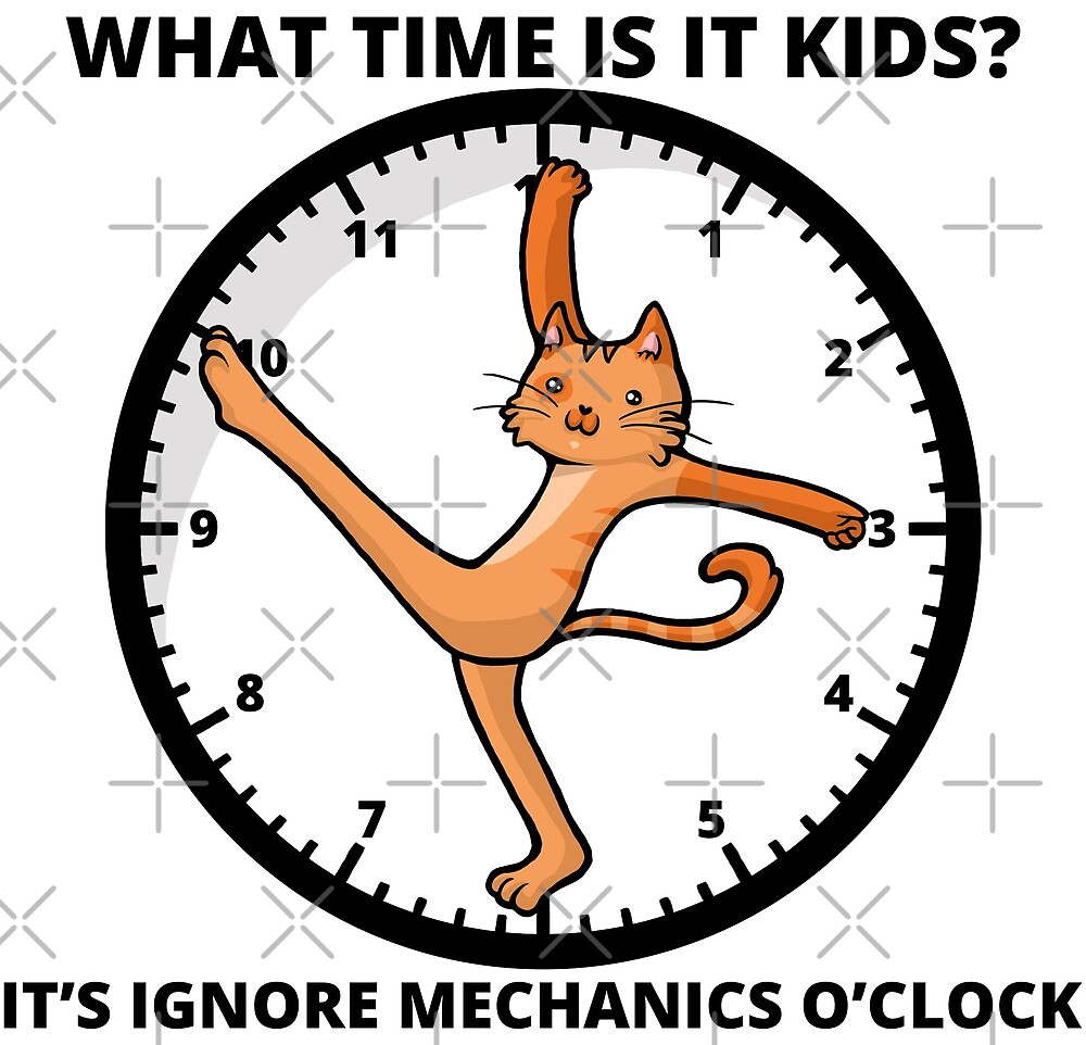 Ignore Mechanics O'clock