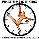 Ignore Mechanics O'clock by Overinkt