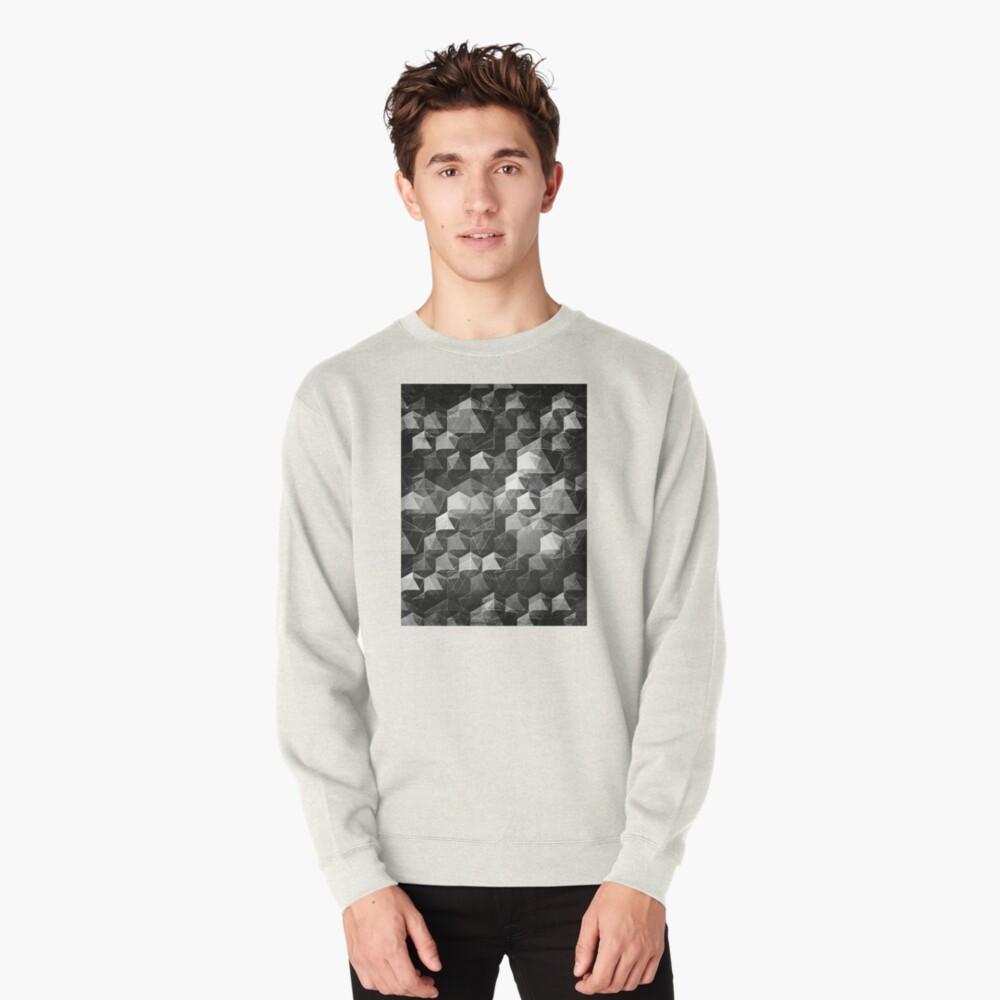 AS THE CURTAIN FALLS (MONOCHROME) Pullover Sweatshirt
