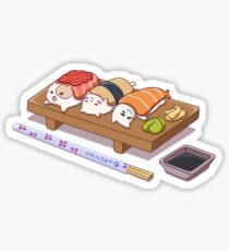 Pegatina Gatos de sushi